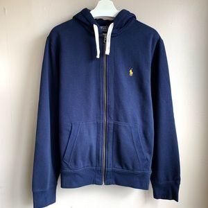 Polo by Ralph Lauren zip up heavy hoodie NWOT